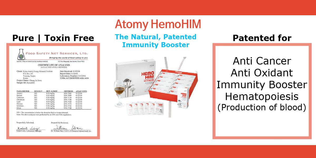 ATOMY HemoHIM - The Natural Patented Immunity Booster